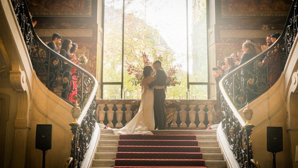 Cérémonie de mariage aux Salons France-Amériques