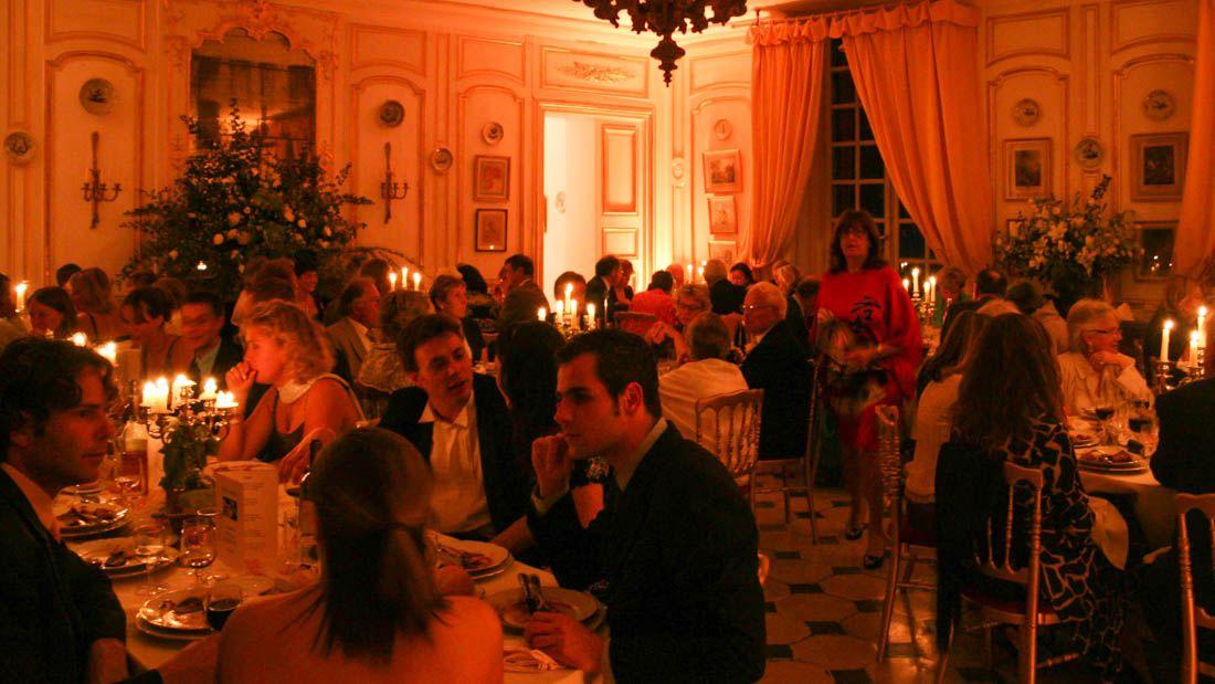 Soirée mariage au Château d'Alincourt
