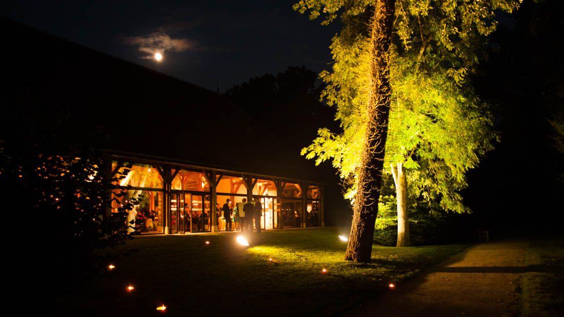 eclairage extrieur au chteau de chamerolles - Chateau De Chamerolles Mariage