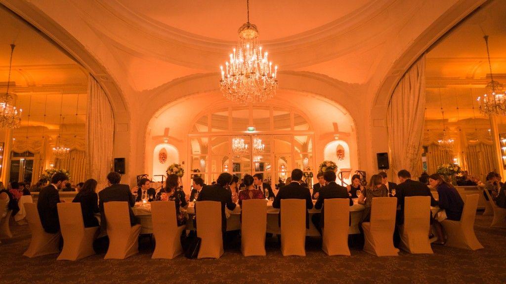 Diner de mariage au Pré Catelan