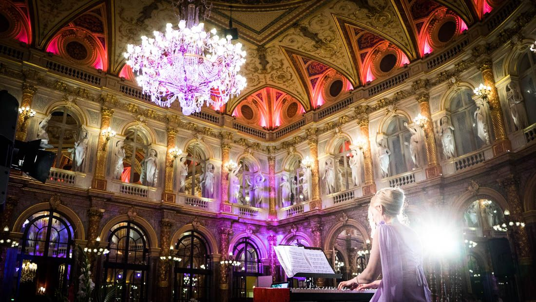 Concert pour un mariage à l'Intercontinental Paris