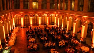 Mariage à la la Bourse de Paris Palais Brongniart