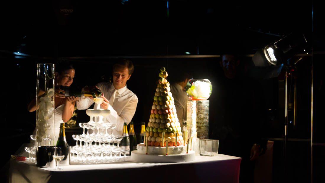 Soirée mariage à l'Espace 56 Tour Montparnasse