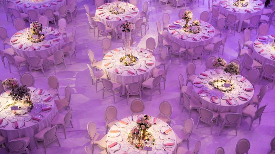 Décoration pour un mariage au Pavillon Cambon Paris