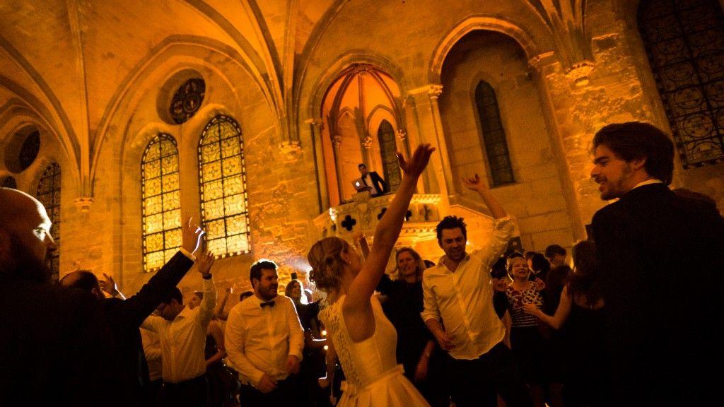 Soirée DJ mariage à l'Abbaye de Royaumont