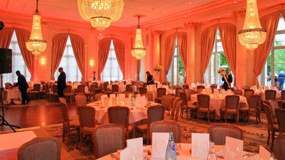 Soirée mariage à l'Hôtel Trianon Palace Versailes