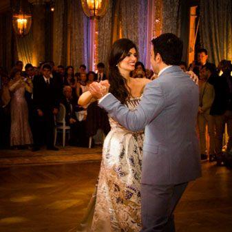 Première danse d'un mariage à Paris