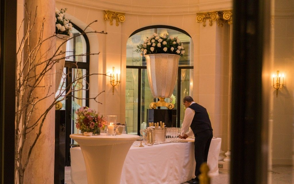Salon de mariage au Peninsula Paris
