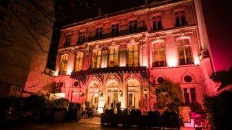 éclairage extérieur à Paris
