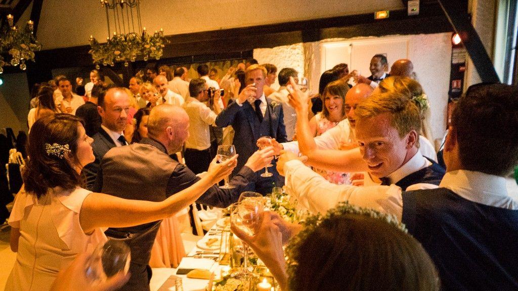 Diner de mariage à la Catrache