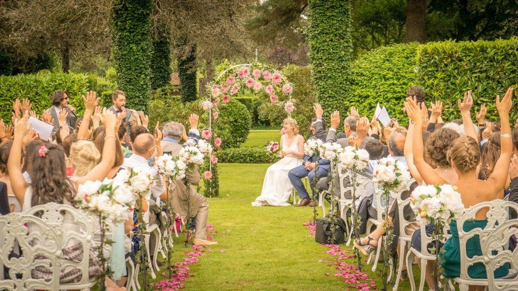 Cérémonie de mariage à la Catrache