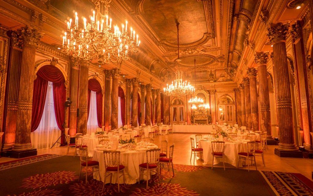 Mariage au salon impérial du Westin Paris