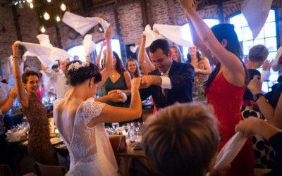 Entrée des mariés aux Bonnes Joies