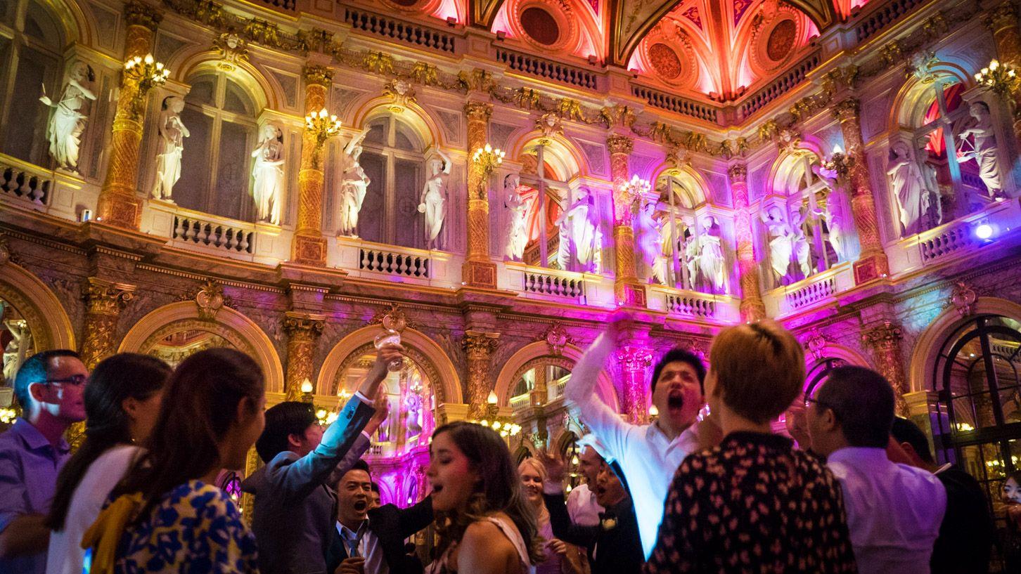Soirée mariage à l'Intercontinental Paris