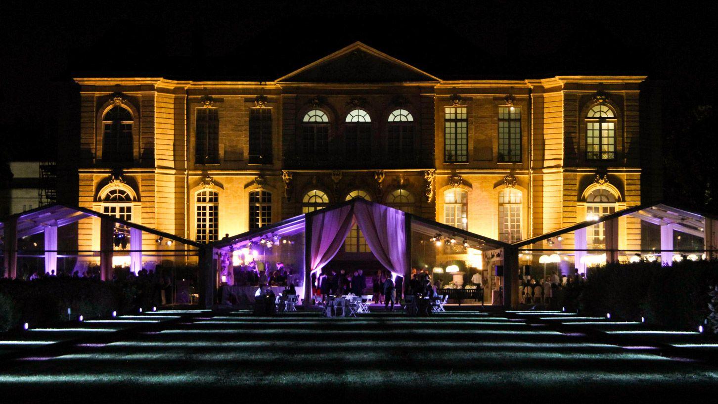 Mariage au musée Rodin à Paris