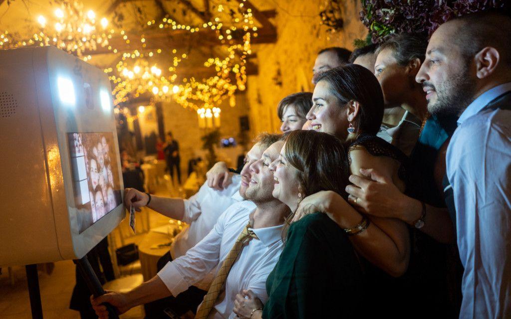 Photobooth lors d'un mariage